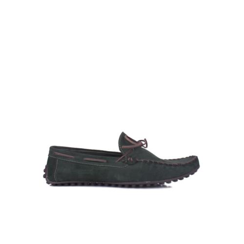 Kalahari 350001 039 728 Erkek Yeşil Süet Yazlık Ayakkabı