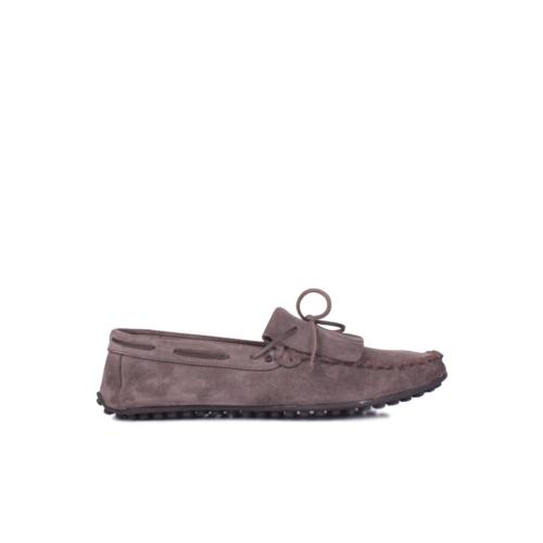 Kalahari 350002 039 328 Erkek Vizon Süet Yazlık Ayakkabı