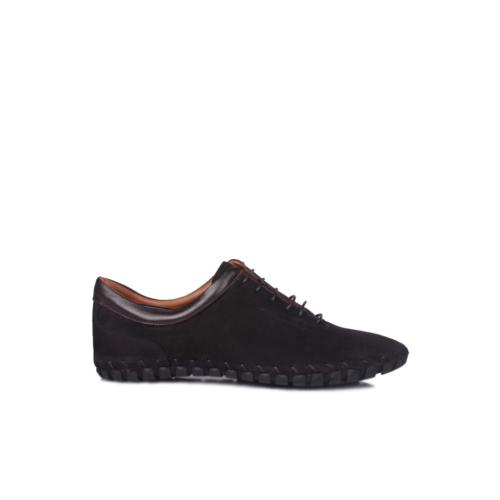 Erkan Kaban 350103 045 025 Erkek Siyah Havlu Nubuk Yazlık Ayakkabı