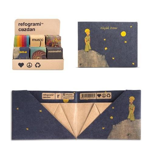 BuldumBuldum Kraft Origami Cüzdan