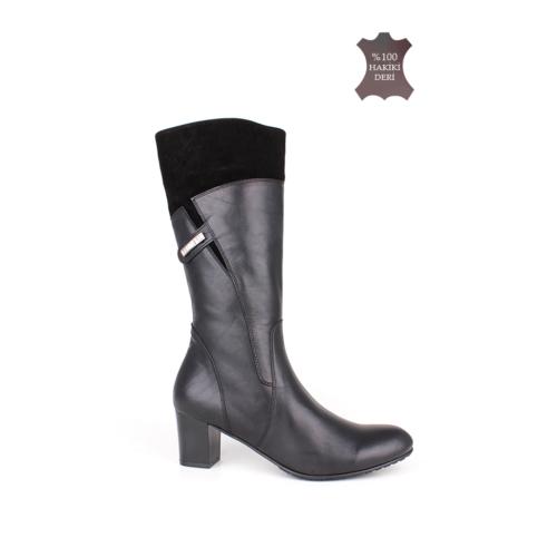 Romani Kadın Siyah Çizme 1109 022 025