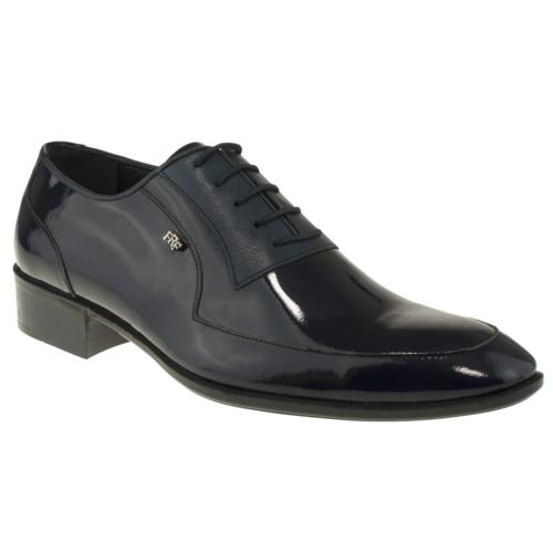 Banner 505 Bağlı Klasik Lacivert Erkek Ayakkabı