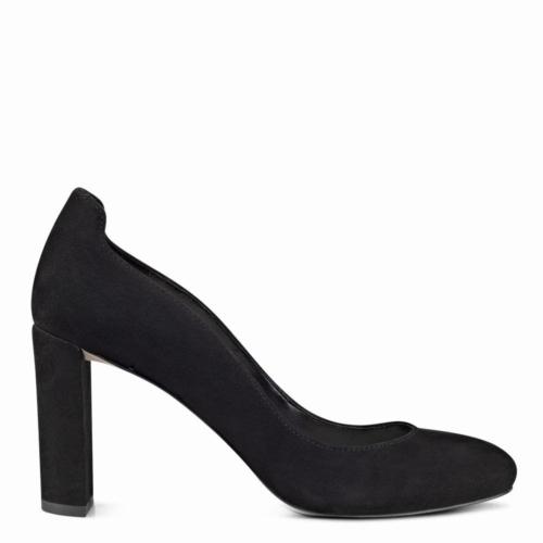Nine West Nwjourna Siyah Gerçek Süet Ayakkabı