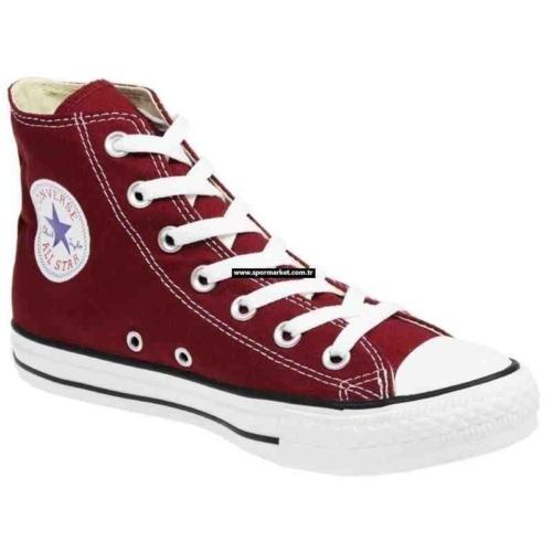Converse Ayakkabı Bordo Uzun M9613-Ext