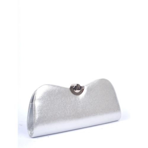 Berramore Simalore 8009-24 Gümüş-Deri Bayan Abiye Çanta