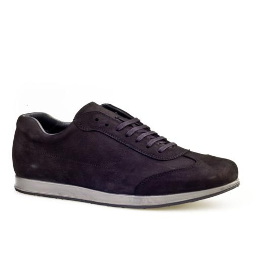 Cabani Bağcıklı Günlük Erkek Ayakkabı Siyah Nubuk
