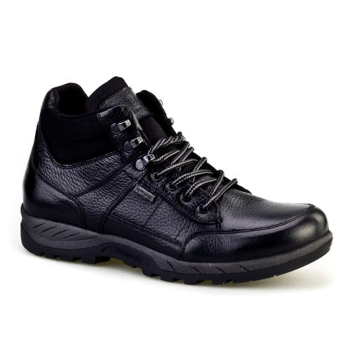 Cabani Waterproof Günlük Erkek Ayakkabı Siyah Kalın Kırma