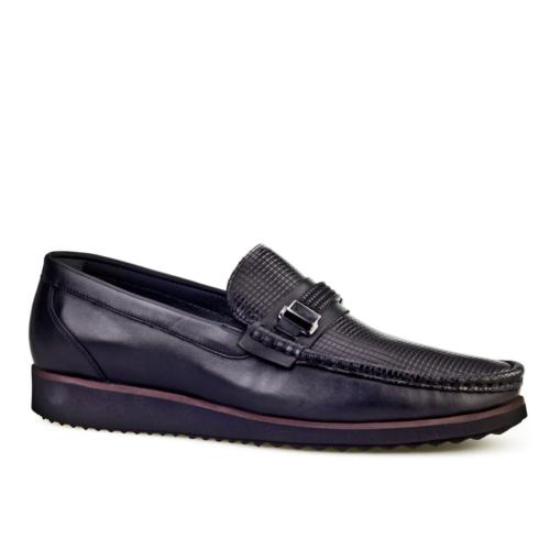 Cabani Light Taban Günlük Erkek Ayakkabı Siyah Soft Deri