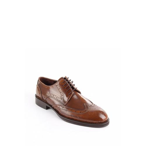 Gön 88599 Taba Açma Deri Erkek Ayakkabı