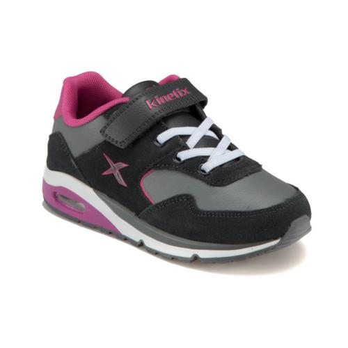 Kinetix 1216282 Koyu Gri Kız Çocuk Süet Deri Ayakkabı
