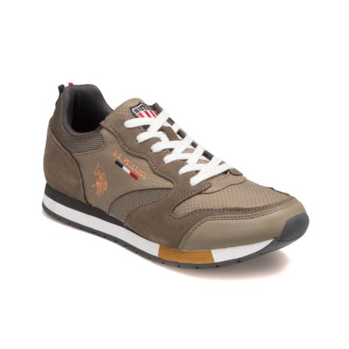 U.S. Polo Assn. A3351896 Haki Erkek Sneaker