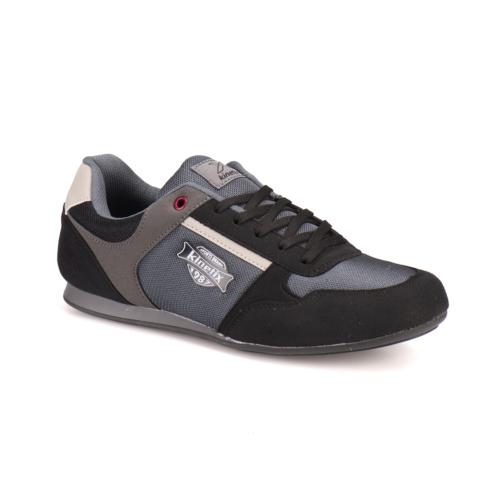 Kinetix A1287705 Siyah Koyu Gri Gümüş Erkek Sneaker