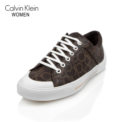 Calvin Klein N12016 Brn Ck Giselle İconogram Rubber Outsole Brow Ayakkabı