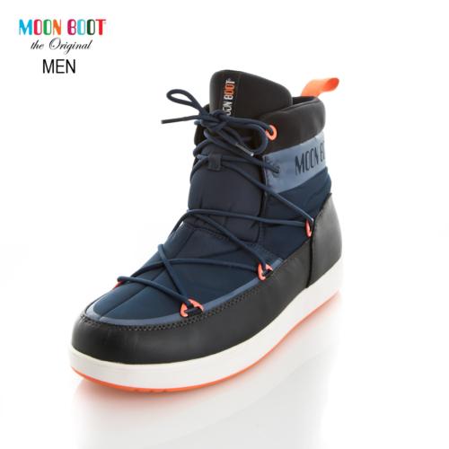 Moon Boot 14300200-001 Moon Boot Neil Dk Blue-Black-Orange
