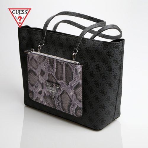 Guess Çanta Hwsy50 50230 Guess Audrey 2 İn 1 Tote Coal Multi