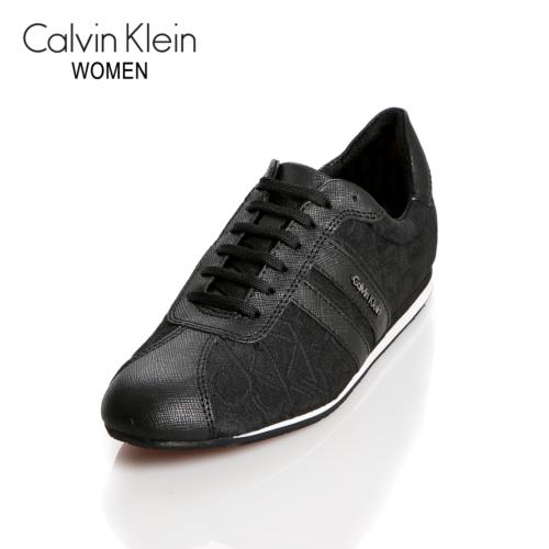 Calvin Klein N11434 Bbk Ck Gayla Ck Logo 3D Jacquard Saffiano B Ayakkabı