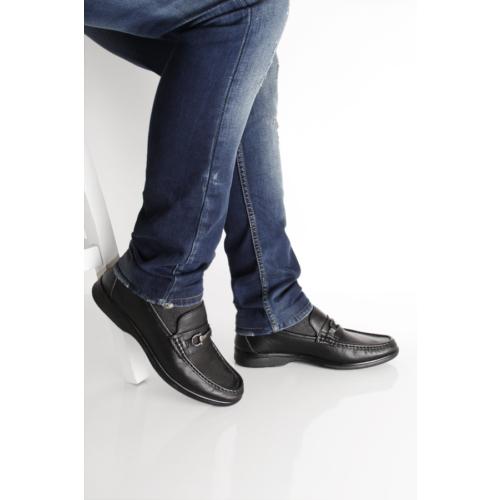 Gön Deri Erkek Ayakkabı 01821 Siyah