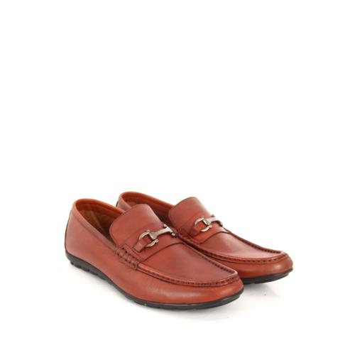Gön Deri Erkek Ayakkabı 01821 Taba Antik