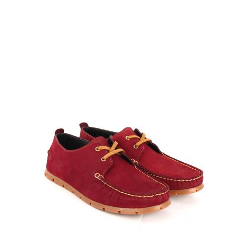 Gön Deri Erkek Ayakkabı 31853 Bordo Nubuk