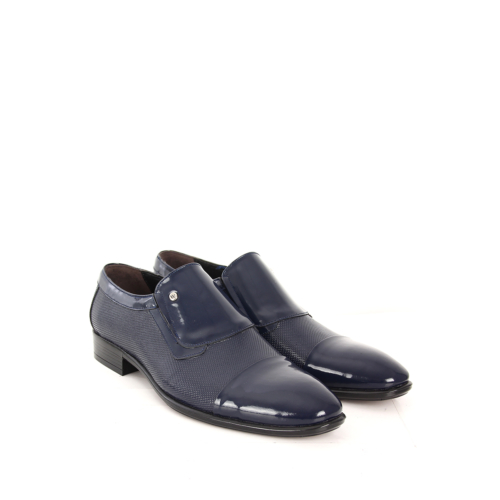 Gön Deri Erkek Ayakkabı 30607 Lacivert Rugan