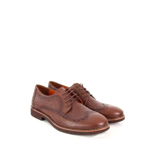Gön Deri Erkek Ayakkabı 31903 Kahve Antik