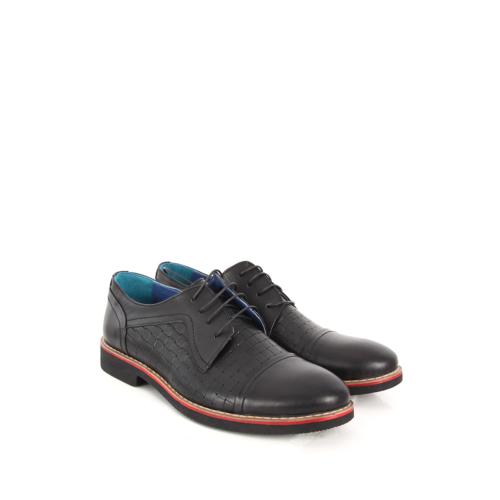 Gön Deri Erkek Ayakkabı 31905 Siyah