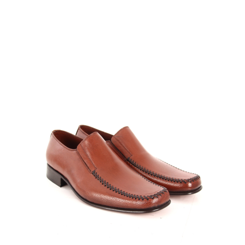 Gön Deri Erkek Ayakkabı 01802 Taba Antik