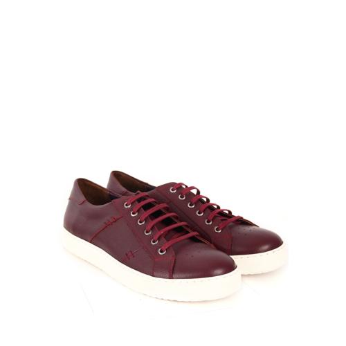 Gön Deri Erkek Ayakkabı 45071 Bordo Antik