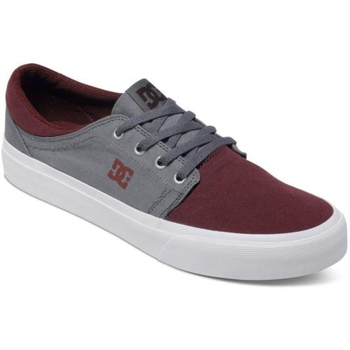 Dc Trase Tx M Shoe Oxblood Lt Grey Ayakkabı