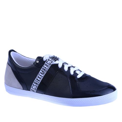 Bikkembergs Diamond 416 i.Shoe M Leat/Pat Black Bke107955 Erkek Ayakkabı Siyah