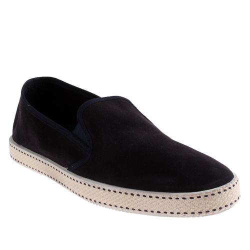 Frau Velour 38C5 Erkek Ayakkabı Blu