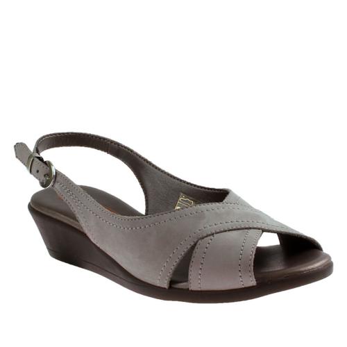 E4 Nabuk Frau 55 Kadın Ayakkabı Beyaz
