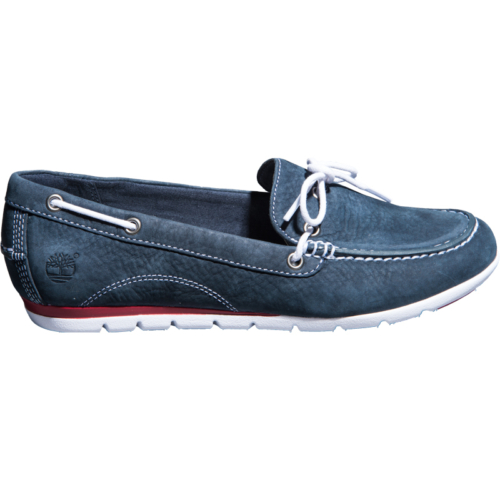 Timberland Ek Harborside 1 Eye Boat 8856A Kadın Blue Loafer