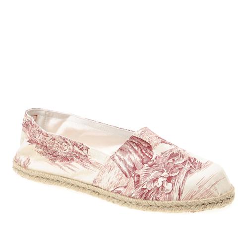 - Tjr Zabattigli Cl Erkek Ayakkabı Toıle De Jouy Rosso