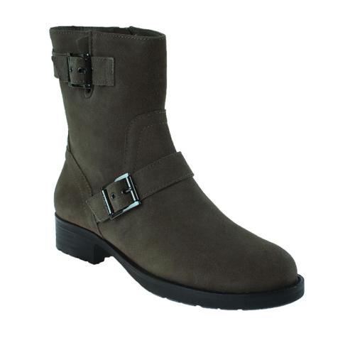 Dkny Tumbled Leather/Sport Suede 23350251 Kadın Ayakkabı Dark Desert