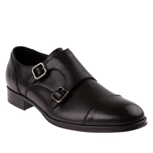 Frau Vitello 77P3 Erkek Ayakkabı Siyah
