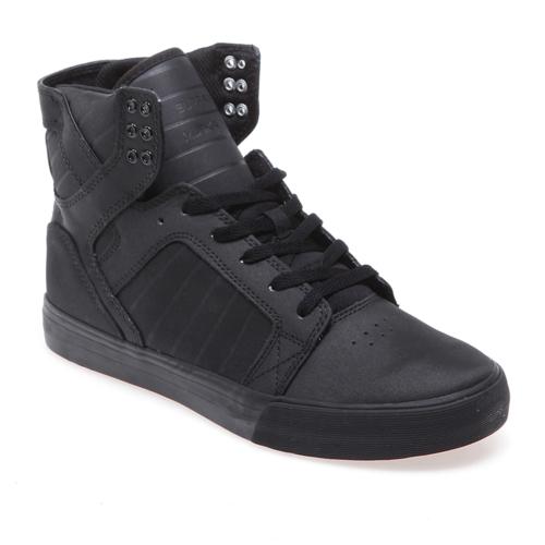 Supra Skytop S18187 Erkek Ayakkabı Black Black Black