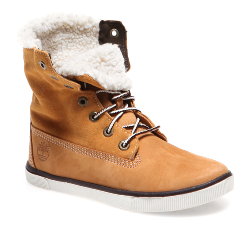 Timberland Roll Top 8772R Çocuk Bot Wheat With Brown
