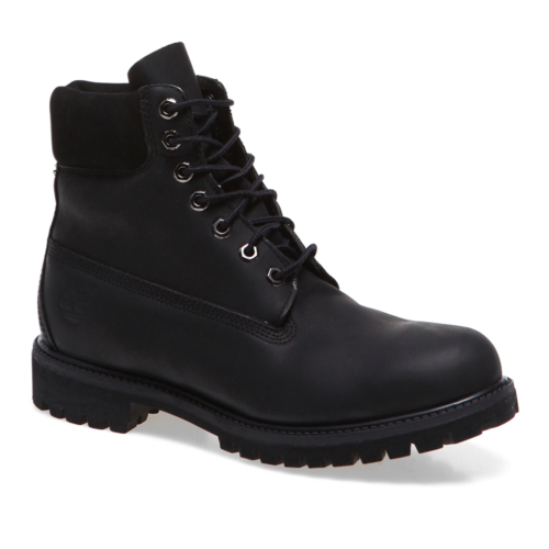 Timberland 6in Premium Boot 10054 Erkek Bot Black Smooth