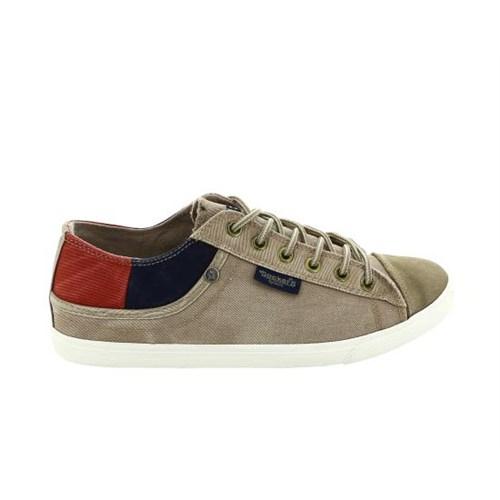 Docker's By Gerli 218658 Bej Lacivert Kırmızı A3340031 Erkek Günlük Ayakkabı