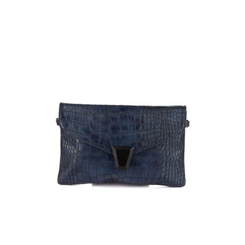 David Jones Kadın Clutch Çanta Koyu Mavi