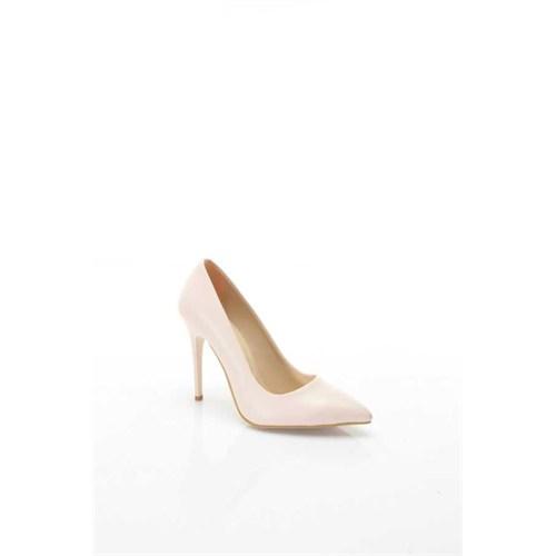 Shoes&Moda Pudra (Cilt) Kadın Stiletto Ayakkabı 509-6-Nz015z94