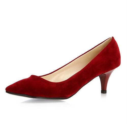 Sothe Zy-017 Bordo Bayan Ayakkabı