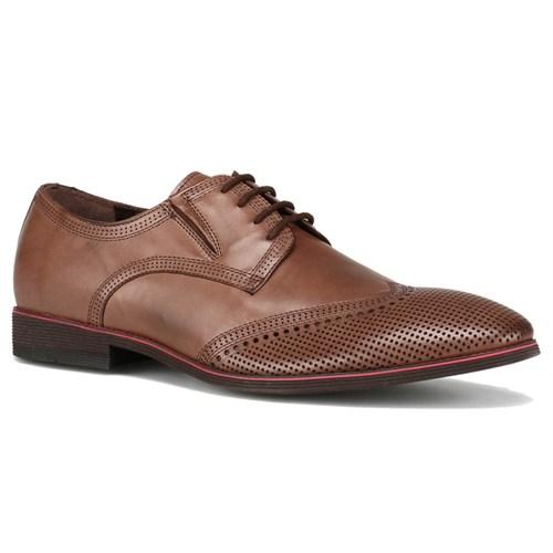 Garamond Kahverengi Kahverengi Kahverengi Erkek Deri Ayakkabı