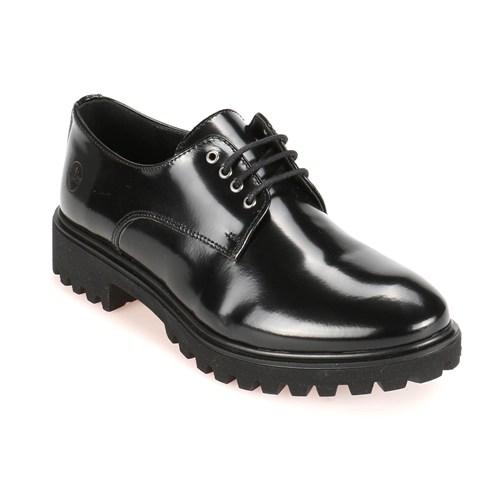 Lumberjack A3322035 Siyah Kadın Rugan Deri Ayakkabı