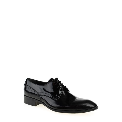 Derigo 17100 Siyah Rugan Bay Ayakkabı