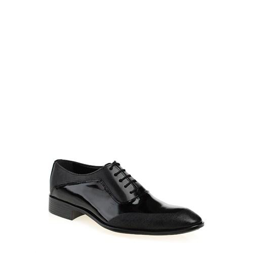 Derigo 17200 Siyah Rugan Bay Ayakkabı