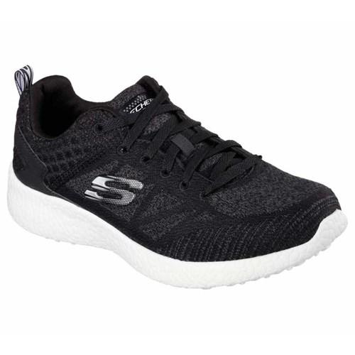 Skechers Burst Deal Closer Erkek Spor Ayakkabı 52106-Bkw