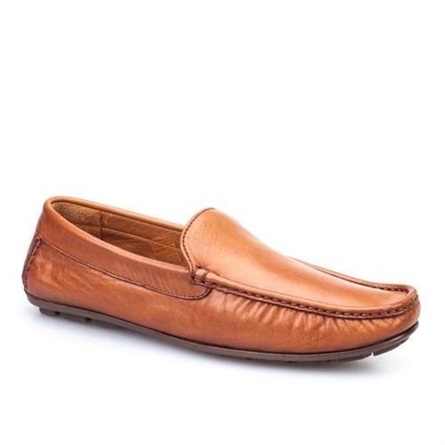 Cabani Makosen Günlük Erkek Ayakkabı Taba Deri