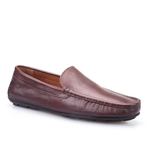 Cabani Makosen Günlük Erkek Ayakkabı Kahve Soft Deri